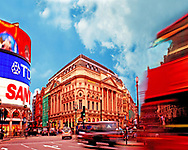 Piccadilly Circus, few places in London offer a more perfect opportunity to capture everything the city is known for in just one image. This photo is packed with the colour, life and icons that have made the city so famous, from the route master bus to the black cab and even the famous electronic signs that bring the square to life.<br /> <br /> This image is a real crowd pleaser, the bright colours and recognisable scenes make it a perfect photo to represent everything London has to offer. It has certainly been popular and I really enjoyed creating something that reminds us of everything we love about the city.