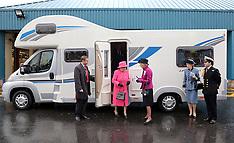 NOV 22 2012 The Queen at Bailey Caravans in Bristol