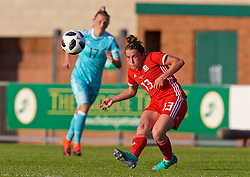 NEWPORT, WALES - Tuesday, June 12, 2018: Wales' Rachel Rowe during the FIFA Women's World Cup 2019 Qualifying Round Group 1 match between Wales and Russia at Newport Stadium. (Pic by David Rawcliffe/Propaganda)