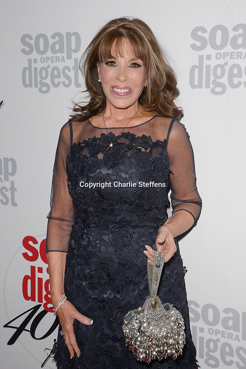 KATE LINDER at Soap Opera Digest's 40th Anniversary party at The Argyle Hollywood in Los Angeles, California