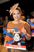 De 3FM Awards zijn de jaarlijkse radioprijzen voor de beste Nederlandse popacts en –artiesten, gekozen door de 3FM luisteraars. De uitreiking van de 3FM Awards vindt plaats tijdens een liveshow in de Gashouder (Westergasfabriek) in Amsterdam.<br /> <br /> Op de foto:  Beste Album en Beste Zangeres voor Caro Emerald -  Deleted Scenes