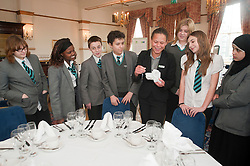 """Hospitality Sheffield's """"Spring Forward"""" initiative aimed at attracting the next generation of hospitality professionals took place in Sheffield on Thursday 8th March....http://www.pauldaviddrabble.co.uk..3  March 2012 -  Image © Paul David Drabble"""