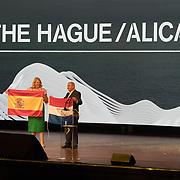 NLD/Scheveningen/20180630 - Koning bij Award Diner Volvo Ocean Race, aankondiging Volvo Ocean Race start vanuit Alicante
