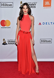 Hailee Steinfeld attends the Clive Davis and Recording Academy Pre-GRAMMY Gala and GRAMMY Salute to Industry Icons Honoring Jay-Z on January 27, 2018 in New York City.. Photo by Lionel Hahn/ABACAPRESS.COM