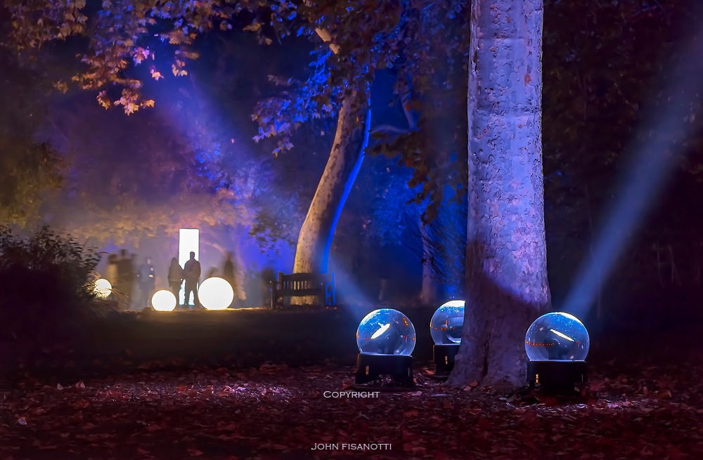 The Enchanted Forest exhibition at Descanso Gardens