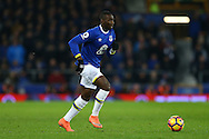Yannick Bolasie of Everton in action. Premier league match, Everton v Manchester United at Goodison Park in Liverpool, Merseyside on Sunday 4th December 2016.<br /> pic by Chris Stading, Andrew Orchard sports photography.