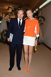 SIMON DE PURY and MICHAELA NEUMEISTER at the Masterpiece Midsummer Party in aid of Marie Curie Cancer Care held at The Royal Hospital Chelsea, London on 2nd July 2013.