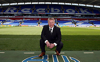 Photo: Paul Thomas.<br /> Bolton Wanderers Press Conference. 30/04/2007.<br /> <br /> New Bolton manager Sammy Lee poses for the media.