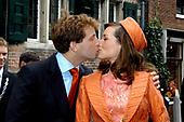 Burgerlijk huwelijk Prins Floris en Aimée Söhngen