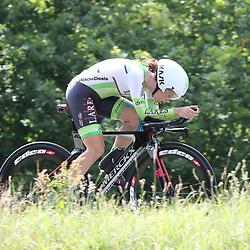 21-06-2017: Wielrennen: NK Tijdrijden: Montferland      <br /> s-Heerenberg (NED) wielrennen <br /> Lotte van Hoek