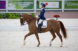 Michel George, (BEL), FBW Rainman - Team Competition Grade IV Para Dressage - Alltech FEI World Equestrian Games™ 2014 - Normandy, France.<br /> © Hippo Foto Team - Jon Stroud <br /> 25/06/14