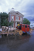 Stagecoach on historic Allen Street, Helldorado Days, Tombstone, Arizona. ©Edward McCain/McCain Creative, Inc. All Rights Reserved 520-623-1998