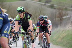 Alena Amialiusik (CANYON//SRAM Racing) at Strade Bianche - Elite Women. A 127 km road race on March 4th 2017, starting and finishing in Siena, Italy. (Photo by Sean Robinson/Velofocus)
