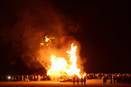 Palisades Football Pep Rally and Bonfire