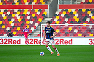 Middlesbrough midfielder Paddy McNair (17) during the EFL Sky Bet Championship match between Brentford and Middlesbrough at Brentford Community Stadium, Brentford, England on 7 November 2020.