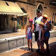 "Selfie Stick#2. The ""Family Selfie"". #crete #chania #greece #family #selfie #selfiestick #street #photography #tourism #tourist #holiday"