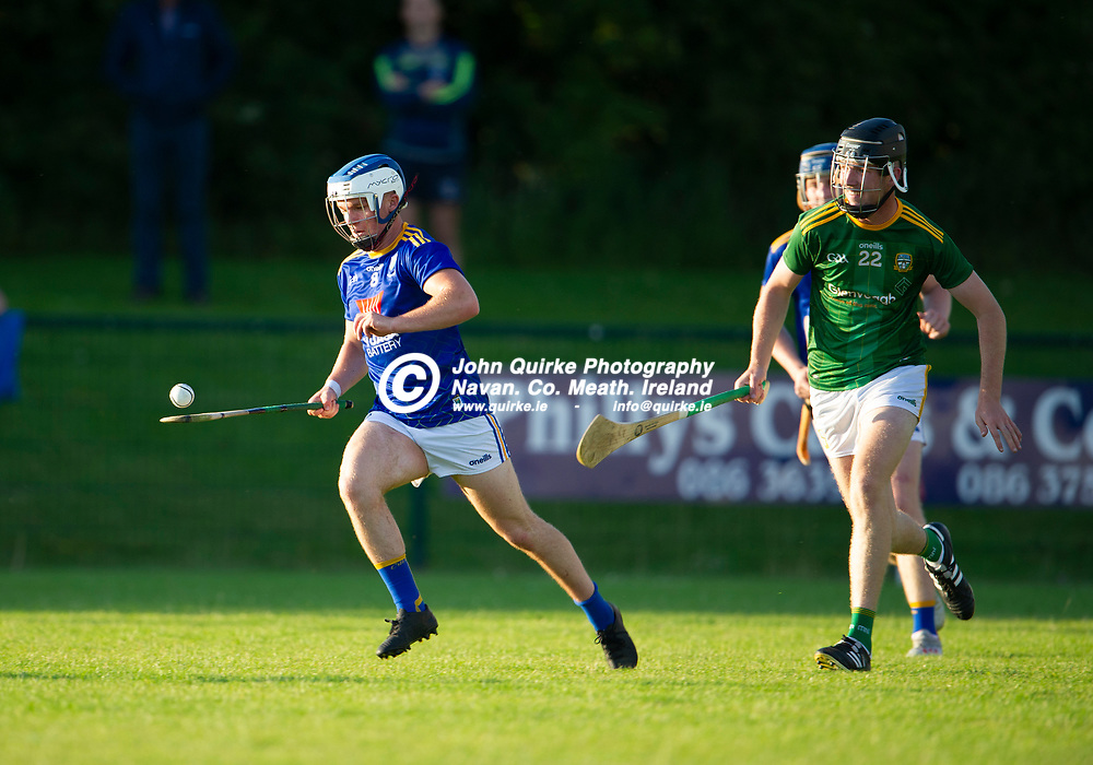 13-07-21. Meath v Wicklow - Leinster U-20 B Hurling Championship (Richie McElligott Cup) 2021 at St. Loman's Park, Trim.<br /> Shaun Cranley, Wicklow in action against Meath in the Leinster U-20 B Hurling Championship (Richie McElligott Cup) 2021<br /> Photo: John Quirke / www.quirke.ie<br /> ©John Quirke Photography, 16 Proudstown Road, Navan. Co. Meath. (info@quirke.ie / 046-9028461 / 087-2579454).