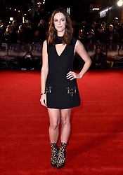 Kaya Scodelario attending the Maze Runner: The Death Cure fan screening held at Vue West End in Leicester Square, London.