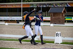 Jonkers Kyra, Van den Heuvel Lize, NED<br /> Nederlands Kampioenschap<br /> Ermelo 2021<br /> © Hippo Foto - Dirk Caremans<br />  06/06/2021