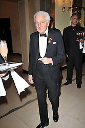 The EARL OF AIRLIE at a party to celebrate the publiction of 'No Invitation Required' by Annabel Goldsmith, held at Claridge's, Brook Street, London on 11th November 2009.