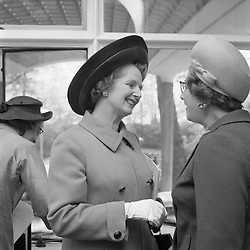 MARGARET THATCHER at the Floral Lunch at The Savoy Hotel, London in May 1970.