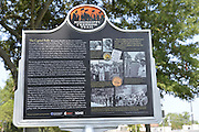 Dedication of Freedom Trail marker outside the Mississippi State Capitol in Jackson, MS.Photo©SuziAltman
