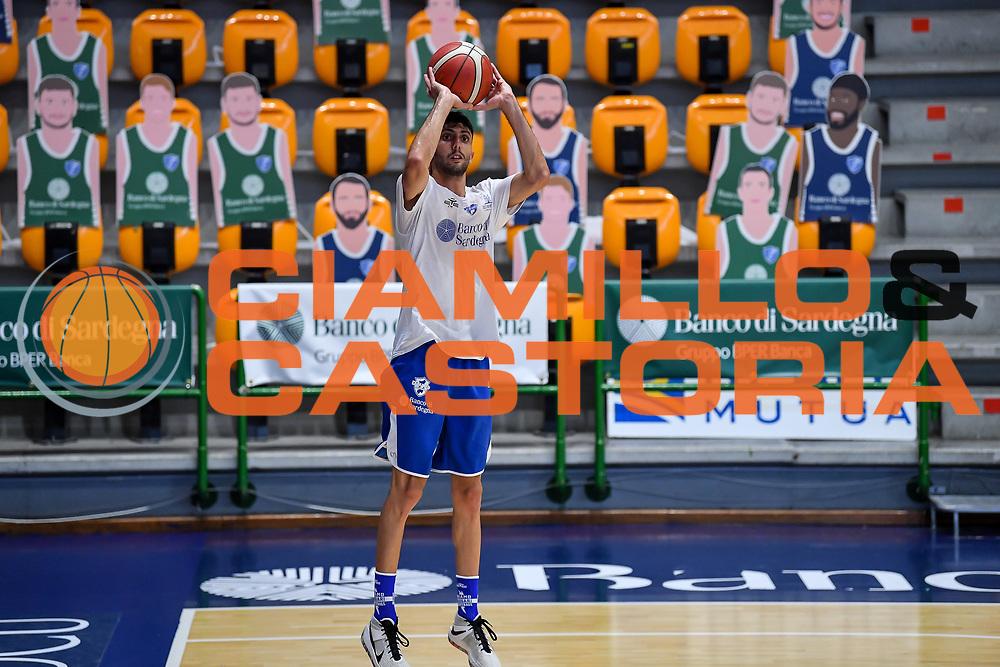 Christian Martis<br /> Allenamento Banco di Sardegna Dinamo Sassari<br /> LBA Legabasket Serie A 2021-2022<br /> Sassari, 12/08/2021<br /> Foto L.Canu / Ciamillo-Castoria