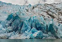 Mendenhall Glacier, Juneau, Alaska USA.