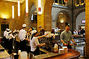 The Natural History Museum, London. Cafe.
