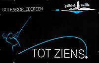 ZWOLLE - Tot Ziens op Golf Club Zwolle, golf voor iedereen.  . COPYRIGHT KOEN SUYK