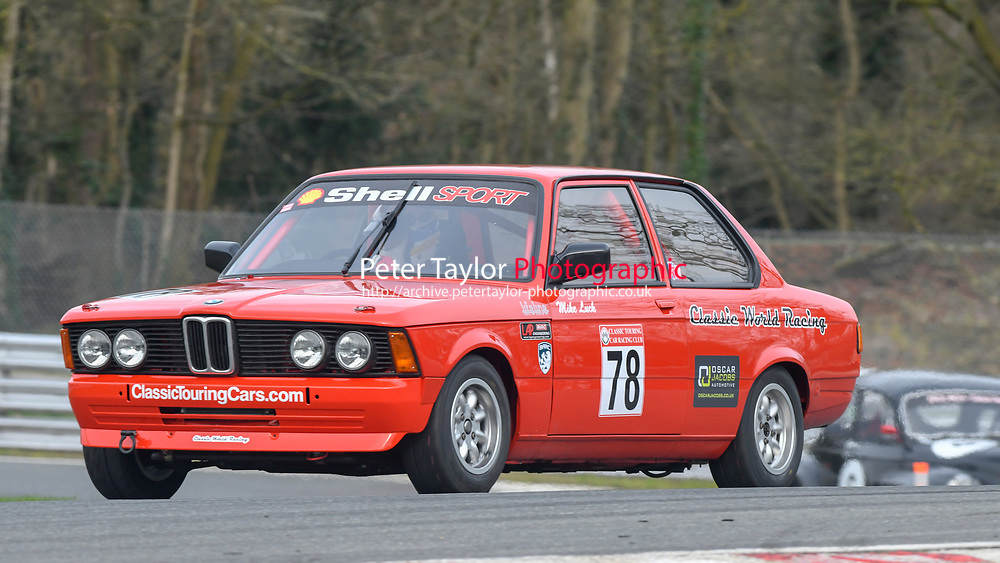 #78 Michael LUCK BMW E21 320 1998  during Paul Inch Classic and Historic Touring Cars and Shell Group 1 Touring Cars, Pre 66 and Pre 83 Touring Car Championship  as part of the BARC NW National Championship Race Meeting at Oulton Park, Little Budworth, Cheshire, United Kingdom. March 23 2019. World Copyright Peter Taylor/PSP. Copy of publication required for printed pictures.