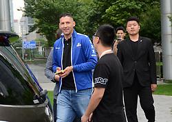 May 31, 2018 - Shanghai, Shanghai, China - Shanghai, CHINA-31st May 2018: Italian former professional footballer Marco Materazzi walks on street in Shanghai, China, May 31st, 2018. (Credit Image: © SIPA Asia via ZUMA Wire)