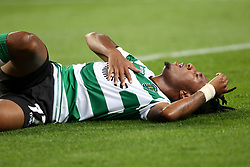 October 31, 2017 - Lisbon, Portugal - Sporting's forward Gelson Martins from Portugal during the UEFA Champions League football match Sporting CP vs Juventus at the Alvalade stadium in Lisbon, Portugal on October 31, 2017. (Credit Image: © Pedro Fiuza/NurPhoto via ZUMA Press)