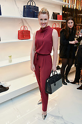 CAMILLA KERSLAKE at the launch of the new Giusepe Zanotti store in Conduit Street, London on 26th October 2016.