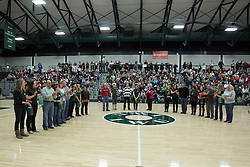 21 February 2015:   during an NCAA men's division 3 CCIW basketball game between the Elmhurst Bluejays and the Illinois Wesleyan Titans in Shirk Center, Bloomington IL