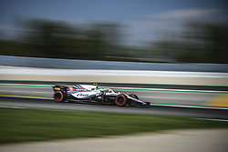 May 11, 2018 - Barcelona, Catalonia, Spain - SERGEY SIROTKIN (RUS) drives during the second practice session of the Spanish GP at Circuit de Catalunya in his Williams FW41 (Credit Image: © Matthias Oesterle via ZUMA Wire)