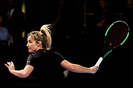 Helen Skelton during the Men's Singles Final Champions Tennis match at the Royal Albert Hall, London, United Kingdom on 9 December 2018. Picture by Ian Stephen.