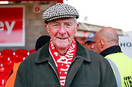 Accrington Stanley    fan during the EFL Sky Bet League 1 match between Accrington Stanley and Portsmouth at the Fraser Eagle Stadium, Accrington, England on 27 October 2018.