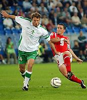 Irlands Ken Cunningham gegen den Schweizer Alexandre Rey. © Alexander Wagner/EQ Images<br /> <br /> NORWAY ONLY