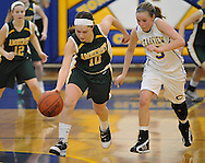 Amherst at Clearview girls varsity basketball on February 19, 2011.