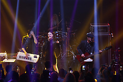 ANAHEIM, CA - JUNE 24:   Mexican pop Grammy award-winning Belanova performs live at the Xalos Night Club on Saturday June 24, 2017, in Anaheim, California. Byline, credit, TV usage, web usage or linkback must read SILVEXPHOTO.COM. Failure to byline correctly will incur double the agreed fee. Tel: +1 714 504 6870.