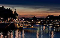 Bridges of Paris, by night.