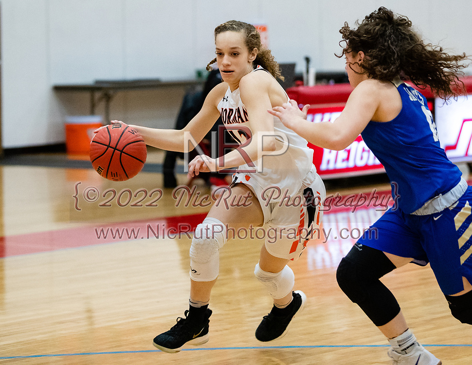 Norman's Mikayla Parks Driving to the basket during their game on Saturday, March 02, 2019 at Western Heights.