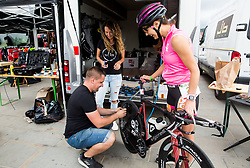 Bike service 1 day before competition Ironman 70.3 Slovenian Istra 2018, on September 22, 2018 in Koper / Capodistria, Slovenia. Photo by Vid Ponikvar / Sportida