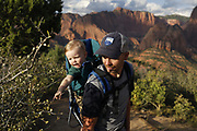SHOT 8/6/17 7:11:49 PM - UOT Tourism photos of Brian Head and Cedar City, Utah. Images include riding Brian Head Resort in Brian Head, Utah; exploring Cedar Breaks National Monument, hiking Kolob Canyons in Zion National Park and mountain biking the Lava Flow Trail in Cedar City, Utah. (Photo by Marc Piscotty / © 2017)