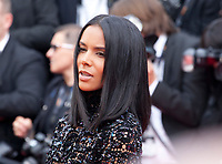 Singer  Shy'm at the Opening Ceremony and Everybody Knows (Todos Lo Saben) gala screening at the 71st Cannes Film Festival Tuesday 8th May 2018, Cannes, France. Photo credit: Doreen Kennedy