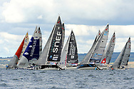 Illustration start of the Douarnenez Fastnet Solo 2017 on September 17, 2017 in Douarnenez, France - Photo Francois Van Malleghem / ProSportsImages / DPPI