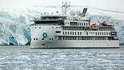 Greg Mortimer - Aurora Expeditions cruise vessel - 1st season in Antarctica 2020 - Petermann Island, Penola Strait, Antarctic Peninsula