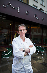 © London News Pictures. File pic dated 28/02/2014.  Former Daily Telegraph editor Tony Gallagher, who has now been appointed Daily Mail joint deputy editor, pictured outside Moro restaurant in Exmouth Market, East London were he spent a period working as a chef after he left the Daily Telegraph. Photo credit: Ben Cawthra/LNP