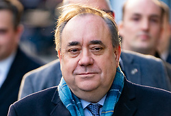 Edinburgh, Scotland, UK. 20 March, 2020.  Alex Salmond leaves the High Court in Edinburgh on day ten of his trial. Iain Masterton/Alamy Live News